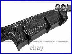 2007-2013 BMW E92 E93 3-Series M Tech DP Style Carbon Fiber Diffuser Quad Tips