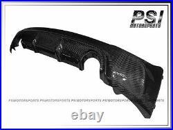 3D Style Carbon Fiber Rear Bumper Diffuser For BMW 2014+ F22 228i M235i M-Sports