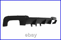 ABS Sport V Style M Addon Bumper Diffuser for BMW 5 Series F10 F11