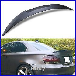 Abs M Sport Style Rear Boot Lip Wing Spoiler For Bmw 1 Series E82 Coupe 07-13