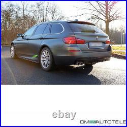 BLACK GLOSS Rear Diffusor Sport-Performance 520-530 fits BMW F10 F11 M Bumper