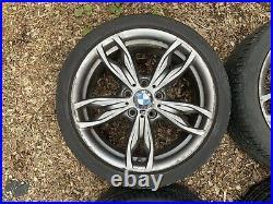 BMW 18 436M M SPORT ALLOY WHEELS TYRES 1 2 SERIES F20 F21 F22 F23 M135i M235i