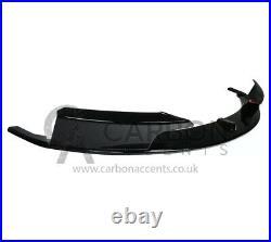 BMW 3 Series F30 Gloss Black Splitter Lip M Performance M-Sport Bumper ONLY