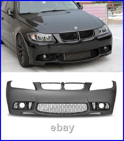 BMW 3 series E90 E91 saloon touring M3 look style sport front bumper 05-08