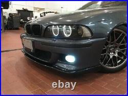 BMW E39 FRONT BUMPER Lip Spoiler splitter M5 HM ABS plast + rear diffuser sport