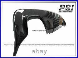 BMW E60 E61 M-Tech Sport Bumper 3D Style Carbon Rear Diffuser Single Dual Tips