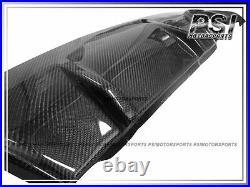 BMW E60 E61 M-Tech Sport Bumper 3D Style QUAD Carbon Rear Diffuser Spoiler Lip