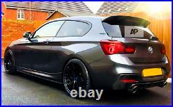 BMW'M Sport' 1 Series LCI F20 F21 M135i M140i Gloss Black Spoiler 2015-2019
