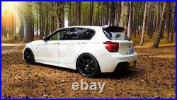 BMW'M Sport' 1 Series PRE-LCI F20 F21 M135i M140i Gloss Black Spoiler 2011-2015