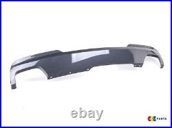 BMW NEW GENUINE 5 SERIES F10 550i 550d M SPORT REAR DIFFUSER DOUBLE WIDE EXHAUST