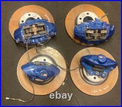 Bmw 1 2 3 4 Series F20 F30 F32 F33 M Sport Brembo Brake Calipers Set With