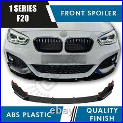 Bmw 1 Series F20 F21 Front Diffuser Splitter Lip M Performance Gloss Black