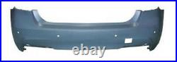 Bmw 3 Series F30 4 Door Saloon 2012-2019 Rear Bumper Primed With Pdc M-Sport New