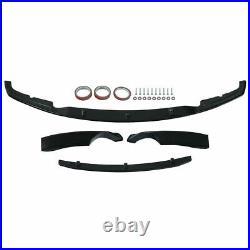 Bmw 3 Series F30 F31 Front Splitter Lip Spoiler Side Gloss Black 3d Style