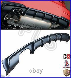 Bmw 3 Series F30 F31 M Sport M Performance Rear Bumper Diffuser Twin Exhaust