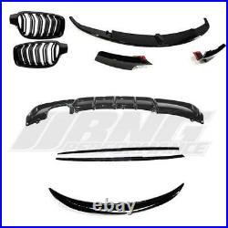 Bmw 3 Series F30 M Sport Performance Style Full Gloss Black Body Kit Uk Stock