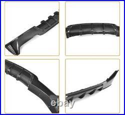 Bmw 4 Series F32 F33 F36 Performance M Sport Rear Diffuser Valance Carbon Look