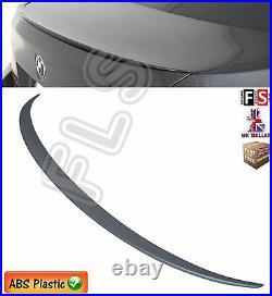 Bmw 5 Series F10 Rear Boot Spoiler Trunk LID Lip M Sport Matte Black Oem Fit