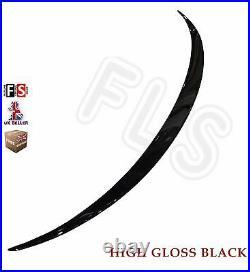 Bmw 5 Series F10 Rear Boot Spoiler Trunk Lip M Sport Gloss Black 100% Oem Fit