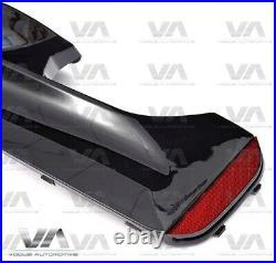 Bmw 5 Series M Sport G30 M5 Style Rear Diffuser Gloss Black
