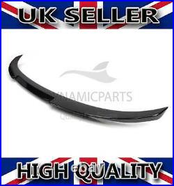 Bmw E90 M Sport V Style Rear Trunk Boot Spoiler (black)
