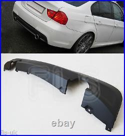Bmw E90-e91 2005 2012 M Sport Rear Diffuser Bumper Splitter Valance 335 Look