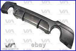 Bmw E92 E93 M Sport Performance Carbon Fiber Rear Diffuser Dual Exhaust