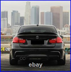 Bmw F30 F31 3 Series Rear Diffuser M Sport Performance Twin Exhaust Rear Bumper