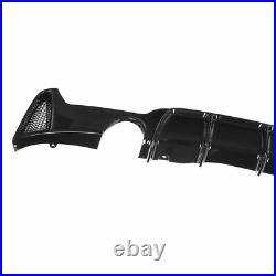 Bmw F32 F33 F36 4 Series Performance M Sport Rear Diffuser Gloss Black