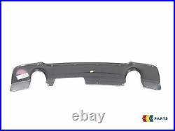 Bmw New Genuine 3 Series E92 E93 M Sport Rear Diffuser With Two Muffler Holes