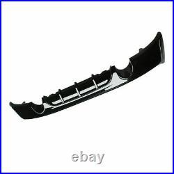 Bmw Rear Diffuser F22 F23 2 Series M Sport Performance M235 Exhaust Gloss Black