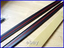 Bmw Splitter Diffuser Rear F30 F31 3 Series M Sport Performance Side Blades Sill