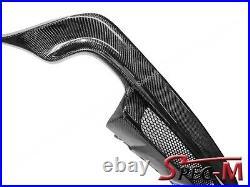 Carbon Fiber 2004-2008 BMW E60 E61 M-Tech M Sport HT Style Rear Bumper Diffuser