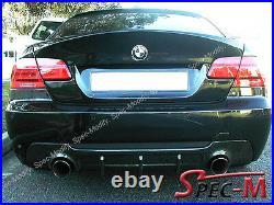 Carbon Fiber Diffuser Replacement For 2007+ BMW E92 328i 335i with M Sport Bumper