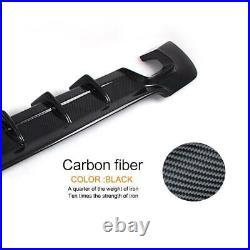 Carbon Fiber Rear Bumper Diffuser Lip for BMW 3 Series E92 E93 M Sport Coupe 07