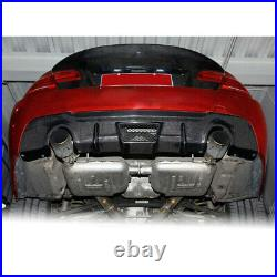Carbon Fiber Rear Bumper Diffuser Lips for BMW E92 E93 325i 335i M Sport 08-11
