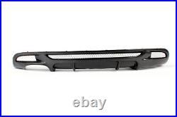 Carbon Fiber Rear Diffuser for BMW E82 E88 M-Sport 125i 128i 135i Coupe 2D 07-13