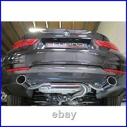 Cobra BMW 320d Exhaust Rear Box (F30 & F31) 340i Style Dual Exit Conversion BM42