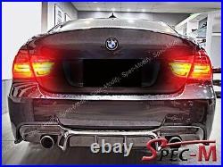 DP Carbon Fiber Diffuser For BMW E90 E91 335i 4Dr with M Sport Bumper