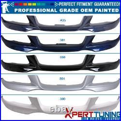 Fit 07-10 BMW E92 328 335 M-Tech Msport Front Bumper Lip PP OEM Painted Color