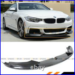 For 14-2020 BMW F32 F33 F36 M Sport Carbon Fiber MP Bumper Lip Spoiler Splitter
