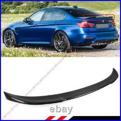 For 2013-18 BMW F30 330i 335i 340i & F80 M3 CS Style Carbon Fiber Trunk Spoiler