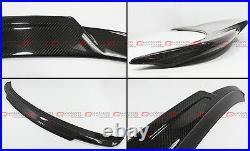 For 2013-18 BMW F30 335i 328i / 15-18 F80 M3 Carbon Fiber HighKick Trunk Spoiler