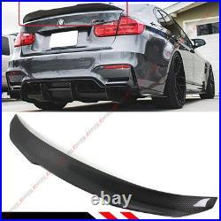 For 2015-18 BMW F80 M3 & 12-18 F30 Carbon Fiber PSM Duckbill Trunk Spoiler Wing