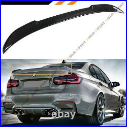 For 2015-18 BMW F80 M3 & 13-18 F30 330i 340i CS Style Carbon Fiber Trunk Spoiler