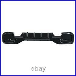 For BMW 1 Series M Sport F20 F21 M135i M140i Gloss Black Rear Diffuser Bumper