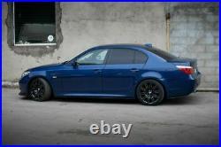 For BMW E60/E61 M Sport Body Kit FULL Splitter/Addon Set 03-10