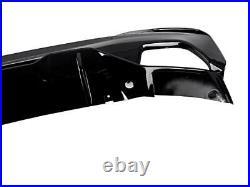 For Bmw 5 Series G30 G31 2017 2019 M Sport Performance Rear Diffuser Lip Black