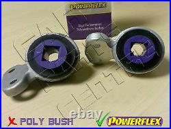 For Bmw E46 318 320 325 330 CI D M Sport Wishbone Arm Rear Powerflex Bushes New