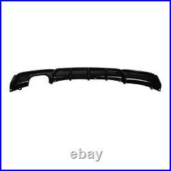 For Bmw F30 3 Series M Sport Performance Rear Diffuser Twin Exhaust Rear Bumper